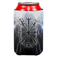 Vegvisir Nordic Viking Storm Compass All Over Can Cooler