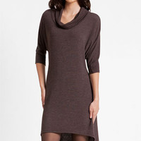 Three Dots Cowl Neck High/Low Sweater Dress | Nordstrom