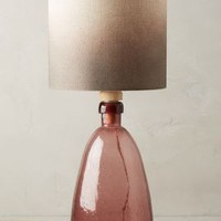 Glass Carafe Table Lamp Ensemble by Anthropologie