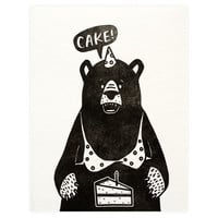 Birthday Bear Cake
