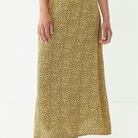 Vintage Overdyed Floral Skirt | Urban Outfitters