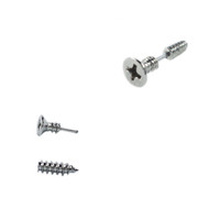 Screw Front and Back Earrings