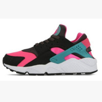Nike Drops the Air Huarache Ultra Sports shoes Pink-Green