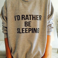 Grey Large Letters Printed Casual Sweater