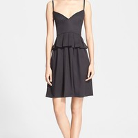 Women's Elizabeth and James 'Gosha' Peplum Fit & Flare Dress