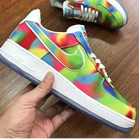 Nike Rainbow Chicago Series Trending Women Men Casual Sports Shoes Sneakers