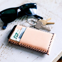 NUDE IPHONE WALLET by Draught Dry Goods for Of a Kind