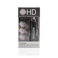 EarPeace HD Ear Plugs - High Fidelity Hearing Protection for Concerts & Music Professionals (Clear Plugs, Black Case)