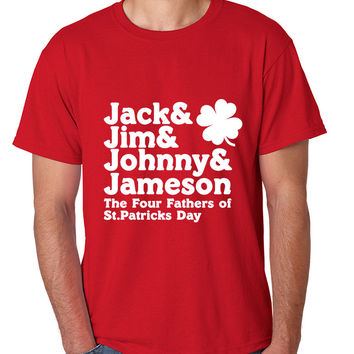 The four fathers of st patricks day men T-shirt
