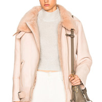 IRO Barrett Jacket in Peach | FWRD