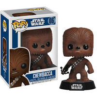 Funko POP! Star Wars Vinyl Bobble-Head - CHEWBACCA (4 inch): BBToyStore.com - Toys, Plush, Trading Cards, Action Figures & Games online retail store shop sale