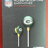 NFL Licensed Green Bay Packers Team Earbuds