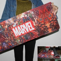 New High Quality Large Rubber Speed Game Mousepad Marvel Comics Custom Design Big Best Comfort Game Superheroes Collage Mousepad