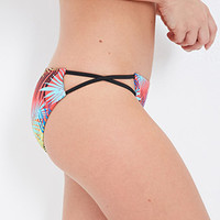 Tropical Foliage Bikini Bottoms