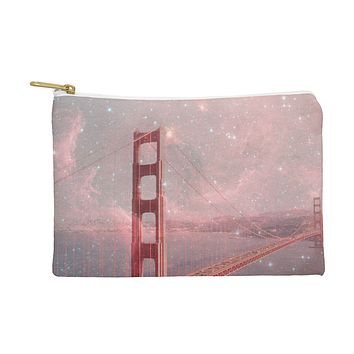 Bianca Green Stardust Covering San Francisco Pouch