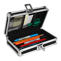 Vaultz Locking Pencil Box Assorted Colors by Office Depot