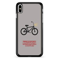 Stranger Things Bicycle iPhone X Case