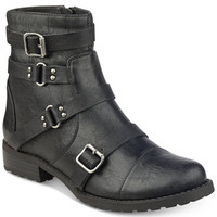 G by GUESS Handsom Moto Booties - Boots - Shoes - Macy's