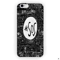 5 Seconds Of Summer Collage Quotes For iPhone 6 / 6 Plus Case