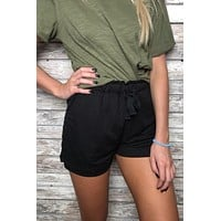 Concert Days Shorts- Black