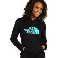 The North Face Women's Fave-Our-Ite Pullover Hoodie TNF Black/Turquoise Blue - Zappos.com Free Shipping BOTH Ways