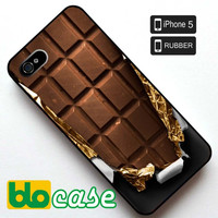 Chocolate Bar Iphone 5 Rubber Case