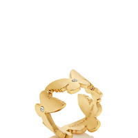 Kate Spade All A Flutter Ring Gold