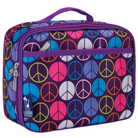 Peace Signs Purple Lunch Box - 33212