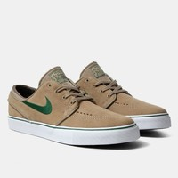 Buy Nike SB Zoom Stefan Janoski Shoes - Khaki/Gorge Green from Urban Industry | Urban Industry