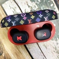 LV Louis Vuitton Hot Sale Bluetooth Headphones Wireless Earbuds Stereo Earphone Cordless Sport Headsets