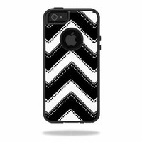 Mightyskins Protective Vinyl Skin Decal Cover for OtterBox Commuter iPhone 5/5s/SE Case Cell Phone wrap sticker skins Chevron Style