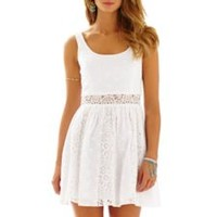 Rosemarie Eyelet Scoop Neck Dress - Lilly Pulitzer