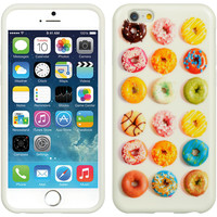 DW Premium TPU IMD Case for iPhone 6 - Donuts