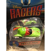 disney parks racers die cast metal body 1/64 scale car peter pan new with box