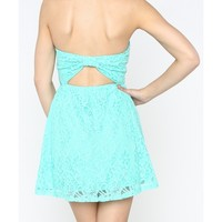 Lace Bow Back Dress - 29 N Under