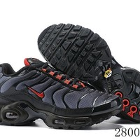 Hcxx 19July 1195 Nike Air Max Plus CI2299-001 Retro Sports Flyknit Running Shoes