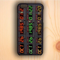 Dream colorful Back To The Future Time Machine iPhone 6 Case