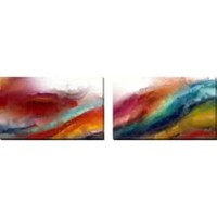 """Mark Lawrence """"Spontaneous Love. Corinthians 13:4"""" Oversized Wall Art Sets of 2 