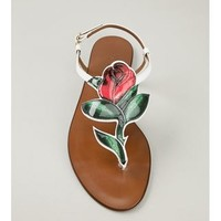 Dolce & Gabbana Rose Sandals - Boutique Mantovani - Farfetch.com