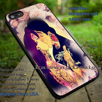 Tattoo Ariel and Eric Kiss iPhone 6s 6 6s+ 5c 5s Cases Samsung Galaxy s5 s6 Edge+ NOTE 5 4 3 #cartoon #disney #animated #theLittleMermaid dt