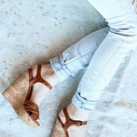 Jinx Cork Wedge