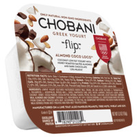 Chobani Flip Almond Coco Loco Low-Fat Greek Yogurt, 5.3 oz