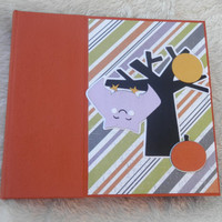 6x6 Halloween Scrapbook Photo Album