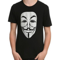 V For Vendetta Guy Fawkes Mask T-Shirt