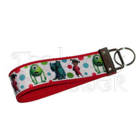 Monsters Inc Keychain / Key Fob by TheLoopyStitcher on Etsy