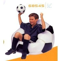 Amazon.com: Jr. Sports Fan Beanless Bag Inflatable Chair - Soccer (Buy 5, Get 1 Free): Everything Else