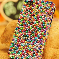 colorful crystal iphone 5 case bling iphone 4 4s case rhinestone iphone case unique phone case samsung galaxy s4 case cover samsung note3