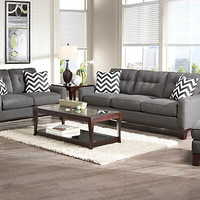 Cindy Crawford Home Hadly Gray 7 Pc Living Room