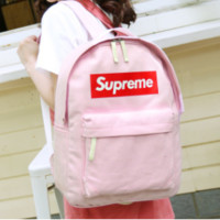 On Sale Casual Back To School College Hot Deal Comfort Stylish Korean Canvas Backpack [11883709907]