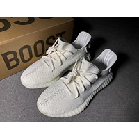 Adidas Yeezy 350V2 All White Real Boost Basf CP9366